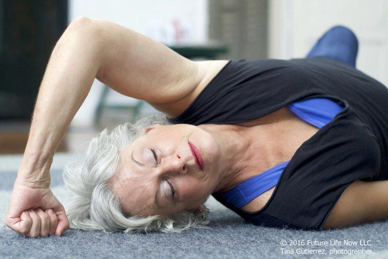 Pam stretching feldenkrais pose