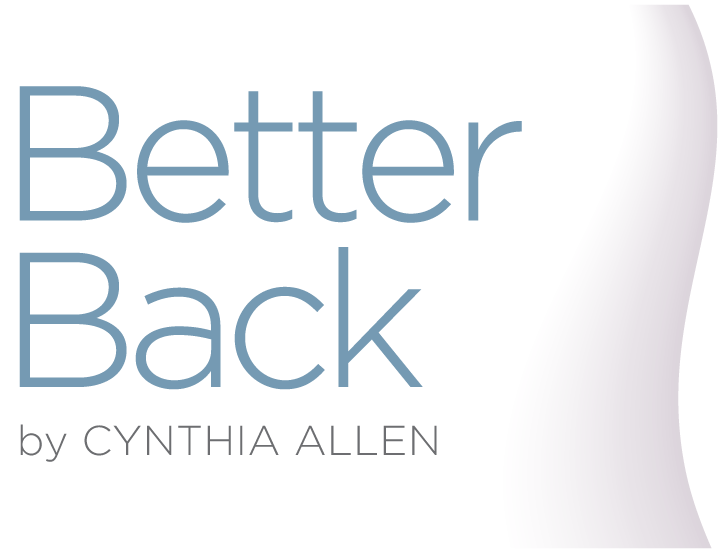 Better Back by Cynthia Allen